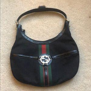 Vintage Gucci Hobo Shoulder Bag